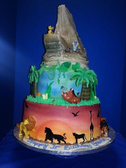 Lion King Baby Cake Designs