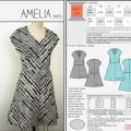 Green bee patterns amelia dress sewing patterns pinterest