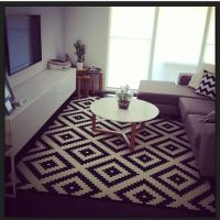 Ikea rugs living room