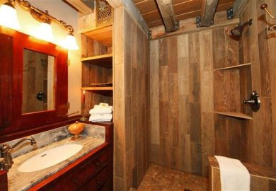 Rustic Bathroom Shower Ideas