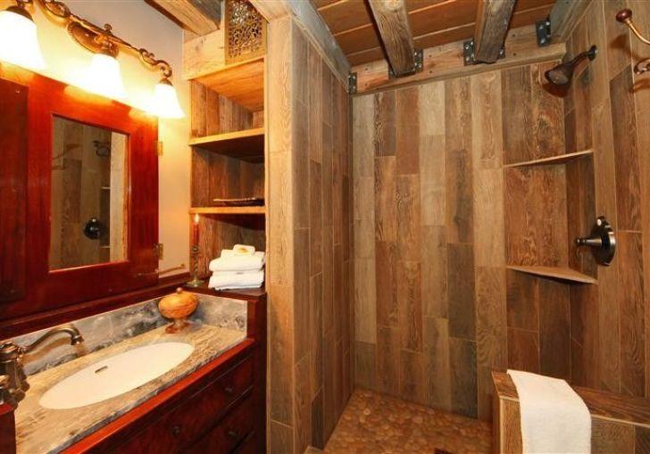 Rustic Bathroom Shower Ideas