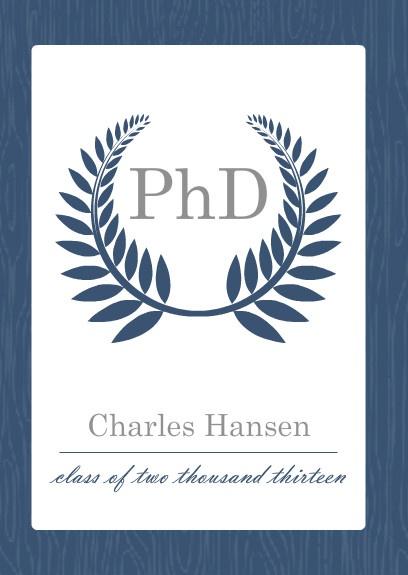 Phd Graduation Announcements