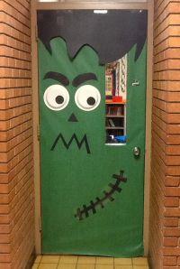 Frankenstein door | Classroom door ideas | Pinterest