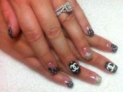coco chanel nails nail design