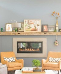 mantle no fireplace needed | Home Decor | Pinterest