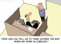 Outside the cubicle | Cartoons | Pinterest