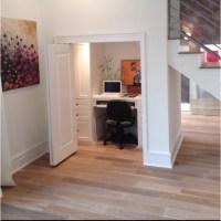 Basement office | Basement Reno | Pinterest