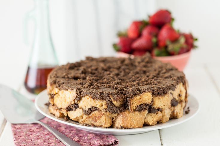 Baked Coffee Cake French Toast -