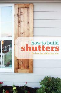 diy shutters 2017 - Grasscloth Wallpaper