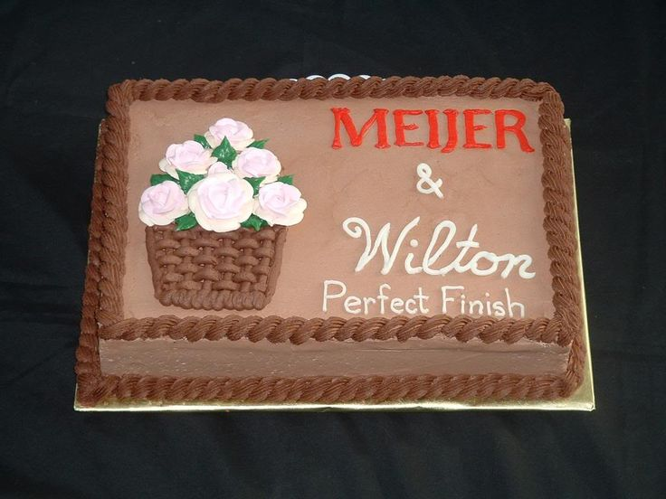 Meijer Bakery Birthday Cakes Best Birthday Cake 2018
