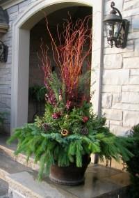 Pin by Arizona Pottery on Planters Winter Holiday | Pinterest