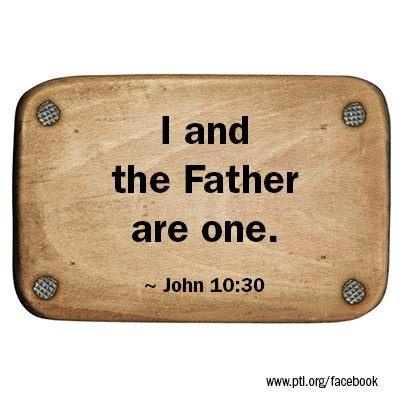 John 10:30 ~ Jesus is God