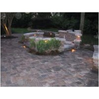 Patio/fire pit | Fire Pit ~ Water Feature | Pinterest