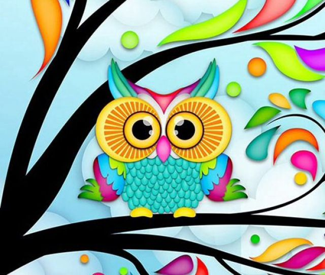 Cute Girly Owls Wallpaper Photo2