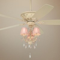 "60"" Casa Vieja Montego Pretty In Pink Light Kit Ceiling Fan"