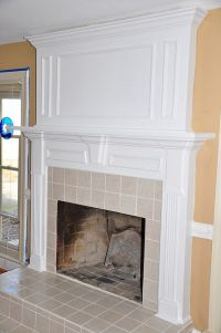 Fireplace molding | For the Home | Pinterest