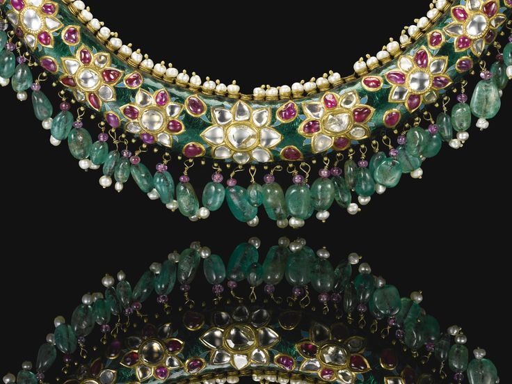 An outstanding Maharani torque necklace (hasli), Bikaner, Rajasthan, late 19th century | Lot | Sotheby's