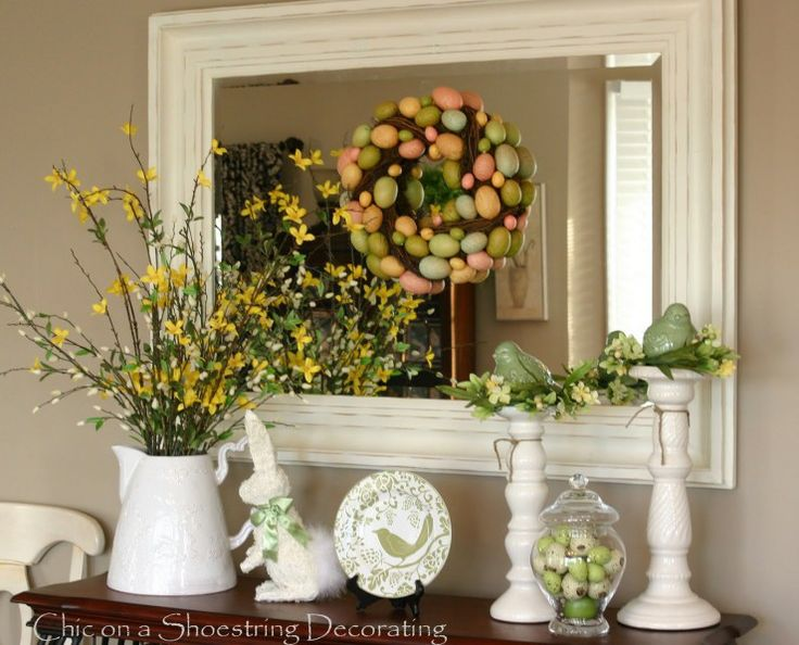 easter decorations for the home 2017  Grasscloth Wallpaper
