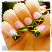 My Rasta/Jamaican Nails | Nails | Pinterest