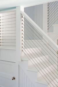 Custom built Cable Stair Railing   Railings + Gates ...