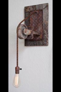Rustic Industrial Light... | P's Restaurant | Pinterest