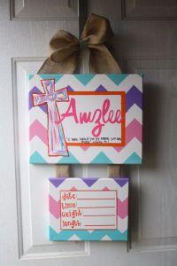 baby hospital door decorations, Baby Hospital door hanger ...