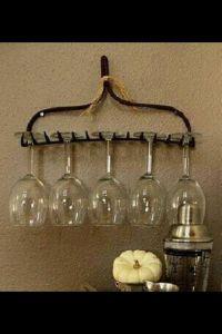 DIY wine glass rack | Uncorking Creativity | Pinterest