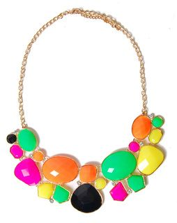 Rock Candy Statement Necklace