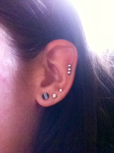 10 gauge plugs | Piercings and Earrings and Such | Pinterest