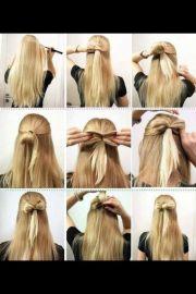 bow hairstyle hair treatment