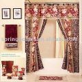 100 polyester double swag shower curtain 2 50 4 0