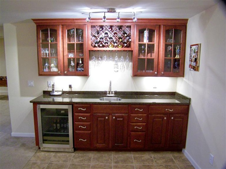 basement wet bar  basement ideas  Pinterest