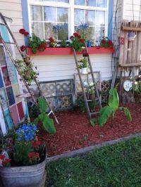 Country yard decor   Yard & Gardening   Pinterest