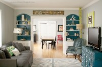 gray, teal and lime living room | INSIDE MY DREAM HOME ...