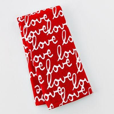 Valentine Day Love Kitchen Towel Xoxo