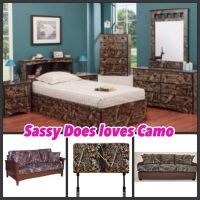Camo bedroom | For the Home | Pinterest