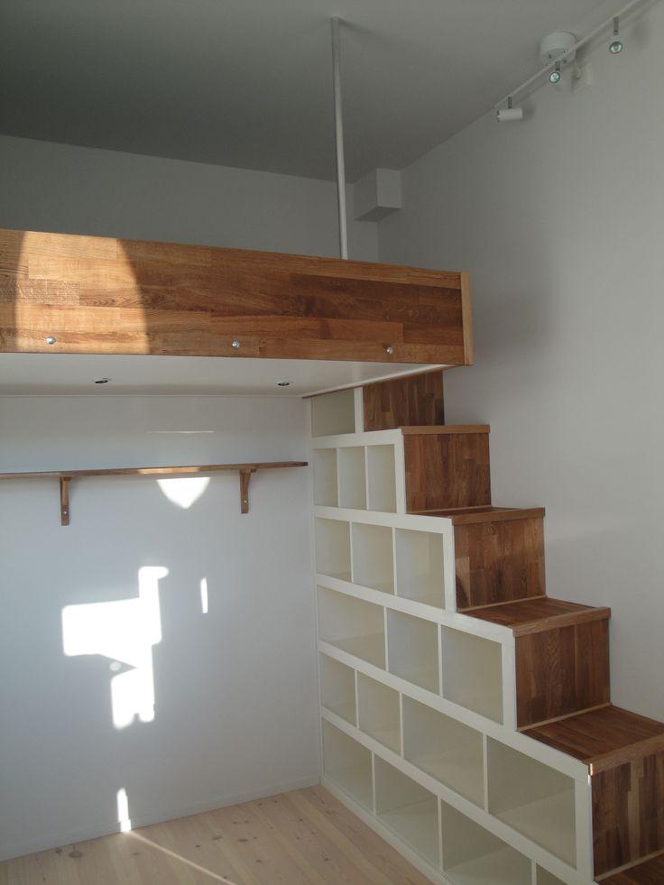 Build A Loft Ladder