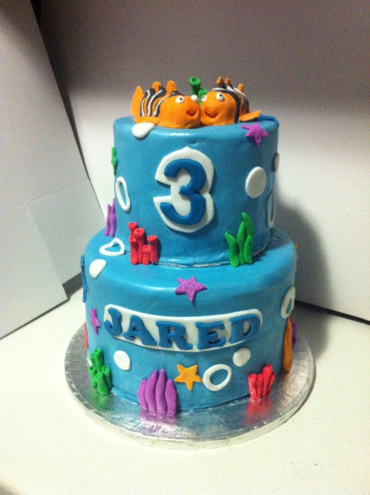 Nemo cake for Jared 8 June 2013