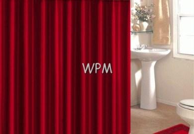Red Leopard Bathroom Set