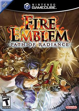 Fire Emblem: Path of Radiance. Had this game years ago and then my brother sold this. So upset!