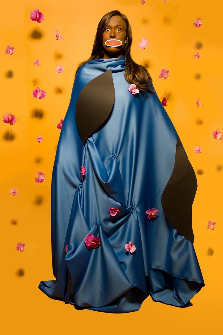 Chris Ofili Holy Virgin Mary