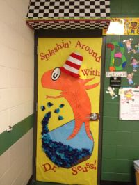 dr. Seuss door decorations