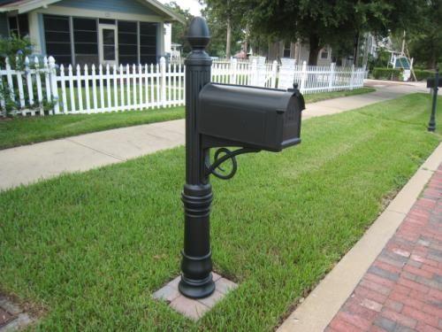 Home Depot Mailbox Post