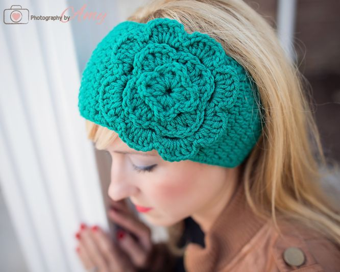 Knit Headband Pattern With Button