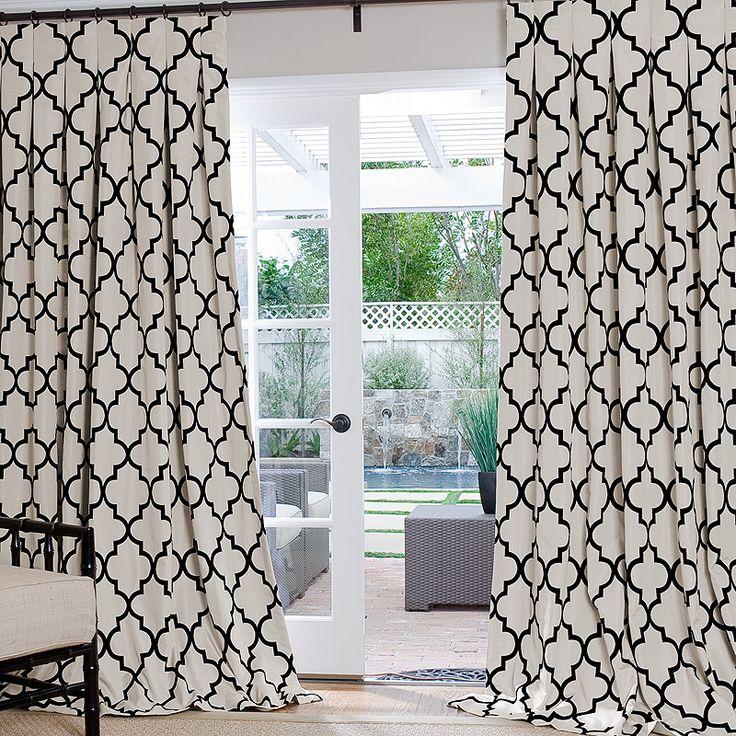 Quatrefoil Shower Curtain
