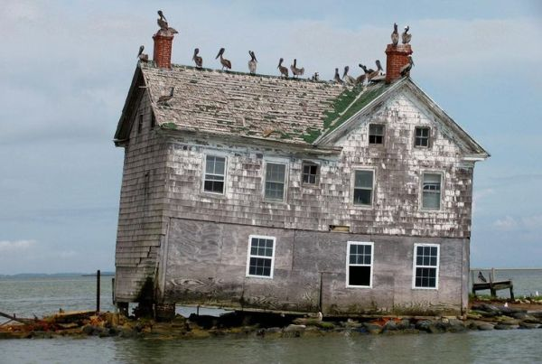 Holland Island USA Mondi che si disfano Pinterest
