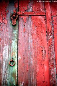 Door 1 - Untold Stories, Rustic Red Barn, Life In The Country