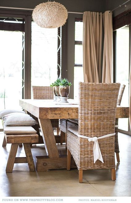In Style Earthy Chic Decorating Beautiful Home Inspirations