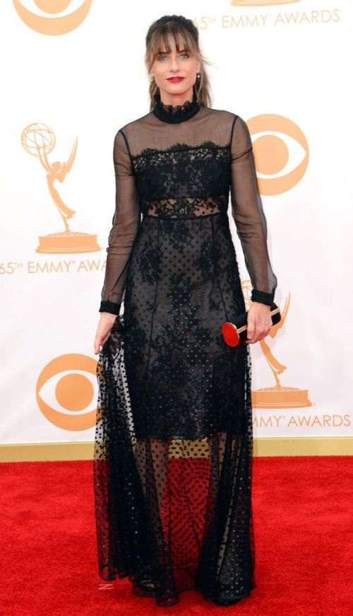 Amanda Peet from 2013 Emmys: Red Carpet Arrivals | E! Online