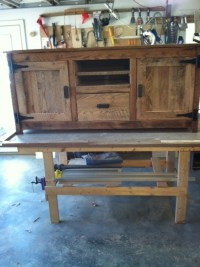 TV Cabinet | Old Barn Wood Furniture | Pinterest